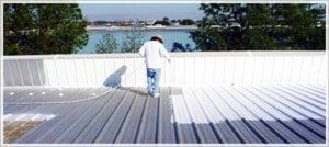 Elastomeric Coating for roofs in Dallas