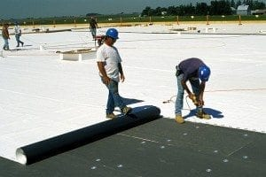 TPO roof system dallas fort worth