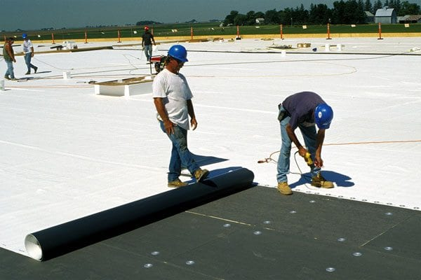 Commercial Roof Installation : Tpo roofing systems l commercial industrial quot a rated