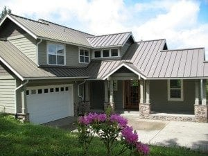 residential metal roofing in Mansfield and Arlington