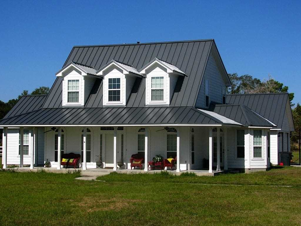 Metal roofs benefits and drawbacks james kate roofing for Cupola on house