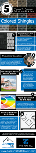 5 Things To Consider Before You Pick New Colored Shingles